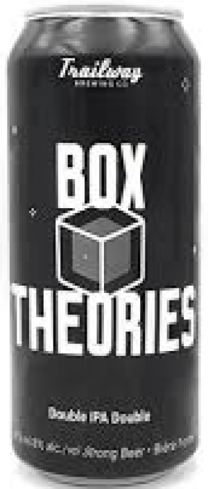 Box Theories by Trailway Brewing Co. in New Brunswick, Canada