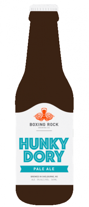 Hunky Dory by Boxing Rock Brewing Company in Nova Scotia, Canada