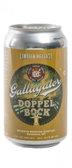 Gallagator Doppelbock by Bozeman Brewing Company in Montana, United States