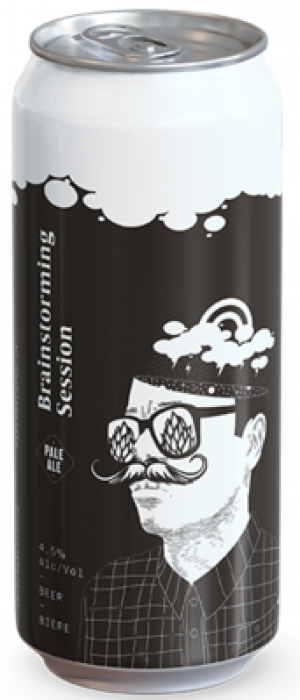Brainstorming Session Pale Ale by Paper Brewing Co. in British Columbia, Canada