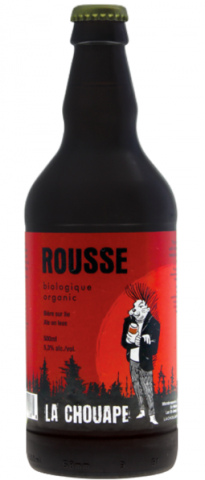 Rousse Bio by Brasserie La Chouape Brewing Co. in Québec, Canada