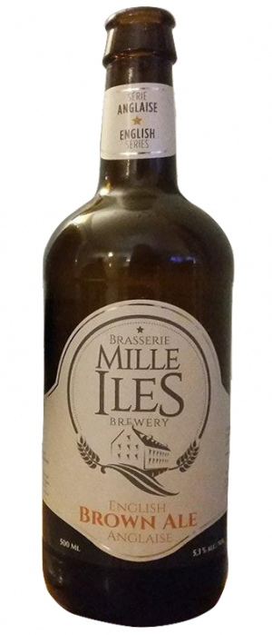 English Brown Ale by Brasserie Mille-Îles in Québec, Canada