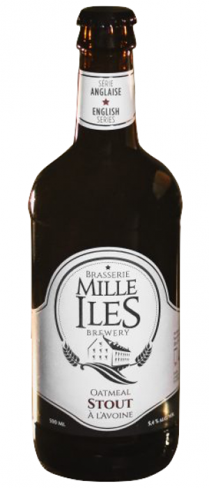 Oatmeal Stout by Brasserie Mille-Îles in Québec, Canada