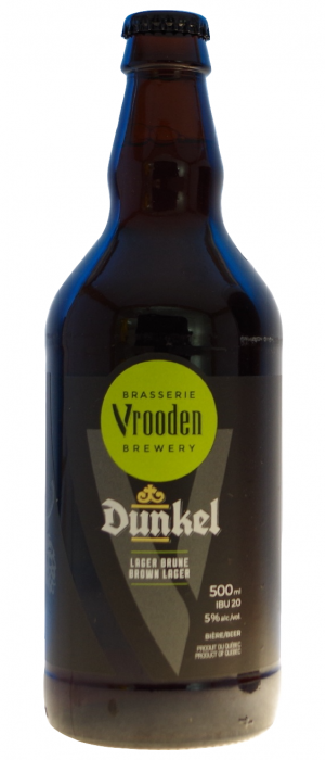 Dunkel by Brasserie Vrooden in Québec, Canada