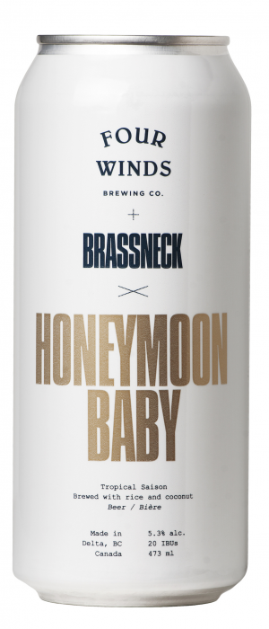 Honeymoon Baby by Brassneck Brewery in British Columbia, Canada
