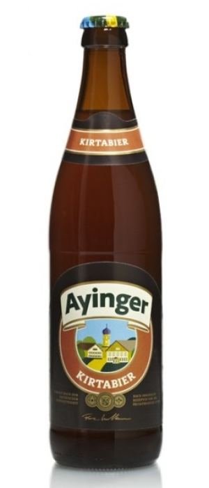 Kirtabier by Bräu von Aying in Bavaria, Germany