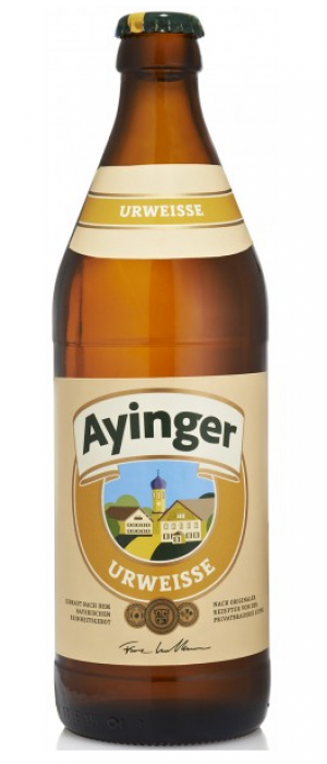 Urweisse by Bräu von Aying in Bavaria, Germany