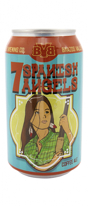 7 Spanish Angels Coffee Ale by Brazos Valley Brewing Company in Texas, United States