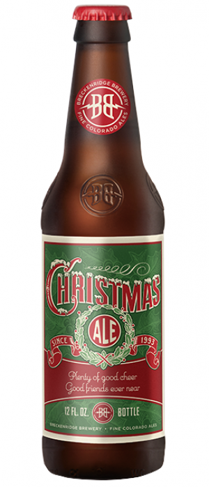 Christmas Ale by Breckenridge Brewery in Colorado, United States