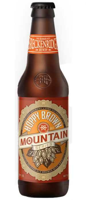 Hoppy Brown Ale by Breckenridge Brewery in Colorado, United States