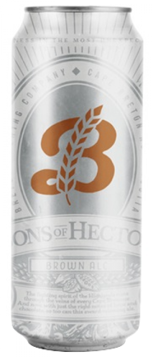 Sons of Hector Brown Ale by Breton Brewing Co. in Nova Scotia, Canada