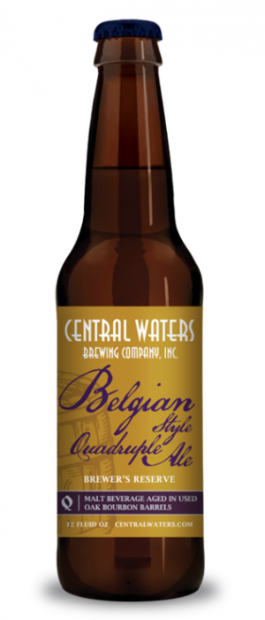 Brewer's Reserve Belgian Style Quadruple Ale by Central Waters Brewing Company in Wisconsin, United States