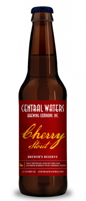 Brewer's Reserve Bourbon Barrel Cherry Stout by Central Waters Brewing Company in Wisconsin, United States