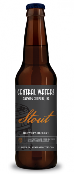Brewer's Reserve Bourbon Barrel Stout by Central Waters Brewing Company in Wisconsin, United States