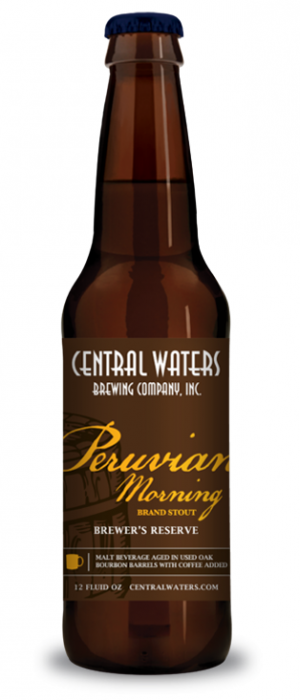 Brewer's Reserve Peruvian Morning by Central Waters Brewing Company in Wisconsin, United States