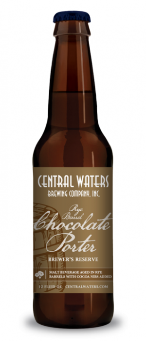 Brewer's Reserve Rye Barrel Chocolate Porter by Central Waters Brewing Company in Wisconsin, United States