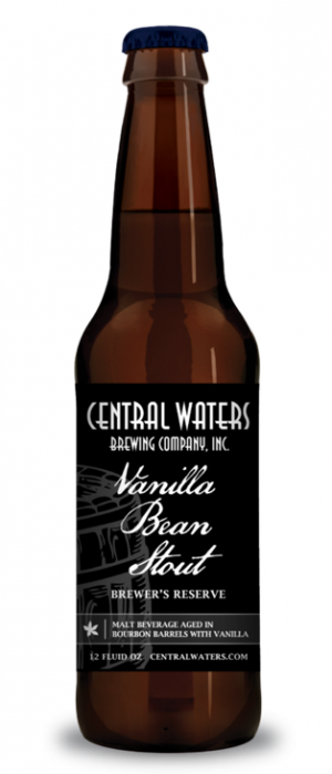 Brewer's Reserve Vanilla Bean Stout by Central Waters Brewing Company in Wisconsin, United States