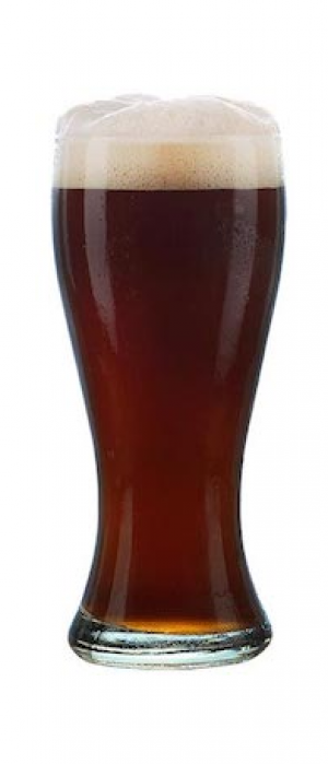 Brewer's Tap: Electric Frankfurter Smoked Brown Ale by Wild Rose Brewery in Alberta, Canada