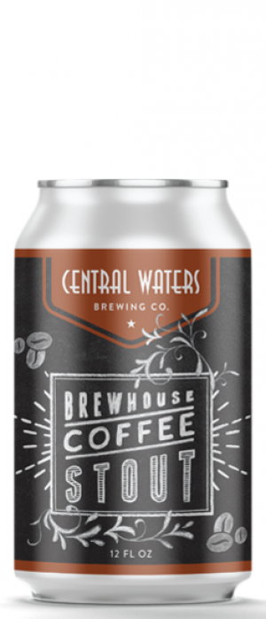 Brewhouse Coffee Stout by Central Waters Brewing Company in Wisconsin, United States