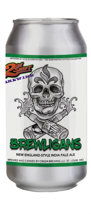 Brewligans by 2nd Shift Brewing in Missouri, United States