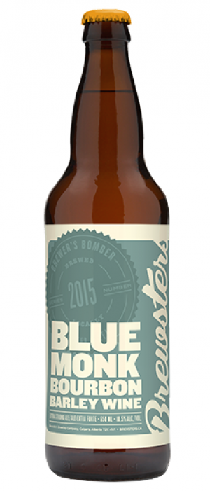 Blue Monk Bourbon Barley Wine