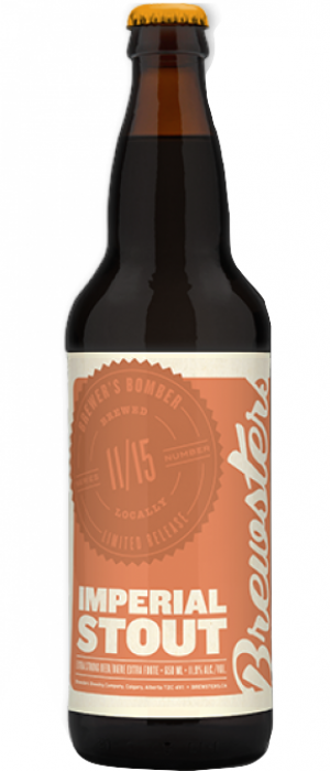 Imperial Stout Bourbon Barrel Aged