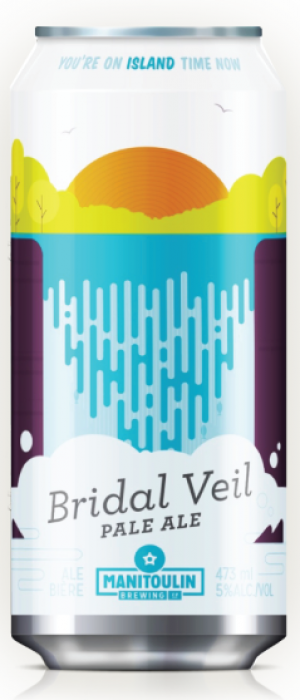 Bridal Veil Pale Ale by Manitoulin Brewing Company in Ontario, Canada