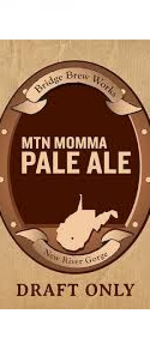Mountain Momma Pale Ale by Bridge Brew Works in West Virginia, United States