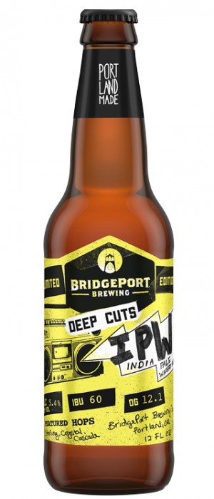 Deep Cuts IPW by BridgePort Brewing in Oregon, United States