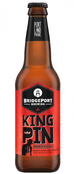 Kingpin Double Red Ale by BridgePort Brewing in Oregon, United States