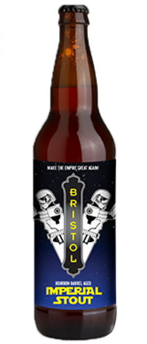 Bristol's Bourbon Barrel Aged Imperial Stout by Bristol Brewing Company in Colorado, United States