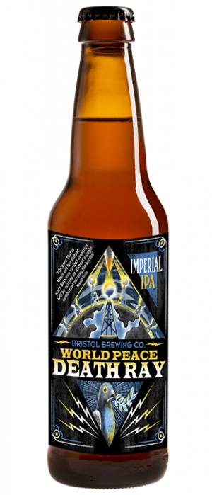 World Peace Death Ray by Bristol Brewing Company in Colorado, United States