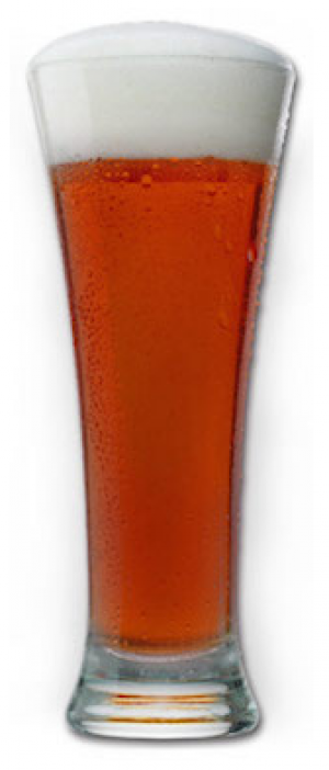 Amber Lagered Ale by Brock St. Brewing Company in Ontario, Canada