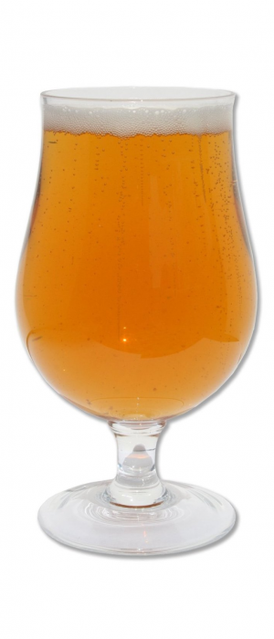 Old Split-Foot Belgian Golden Strong Ale by Broken Bow Brewery in New York, United States