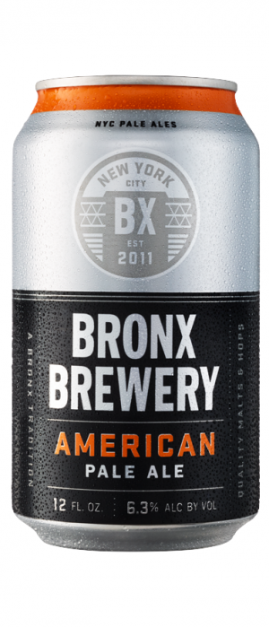 American Pale Ale by Bronx Brewery in New York, United States