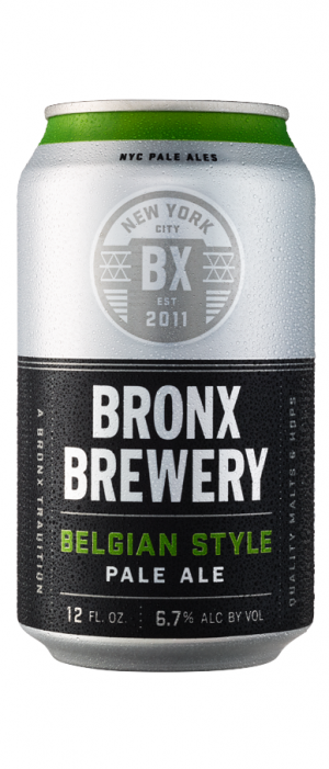 Belgian Style Pale Ale by Bronx Brewery in New York, United States
