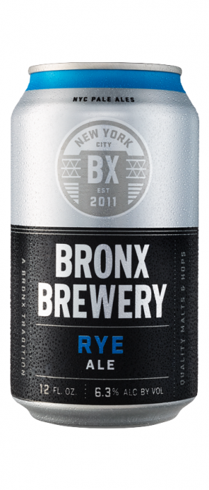 Rye Ale by Bronx Brewery in New York, United States