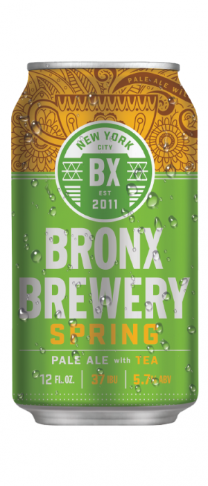 Spring Pale Ale by Bronx Brewery in New York, United States
