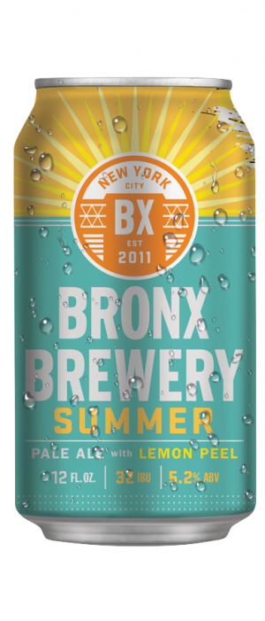 Summer Pale Ale by Bronx Brewery in New York, United States