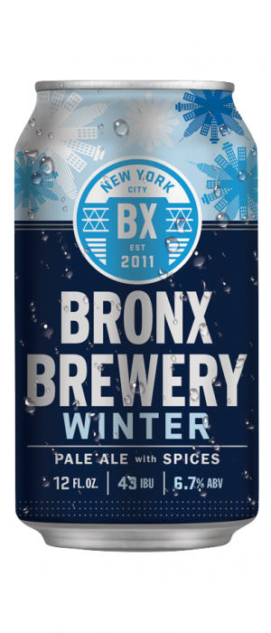 Winter Pale Ale by Bronx Brewery in New York, United States