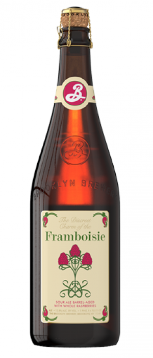The Discreet Charm of the Framboise by Brooklyn Brewery in New York, United States