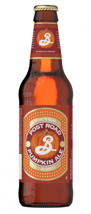 Post Road Pumpkin Ale by Brooklyn Brewery in New York, United States