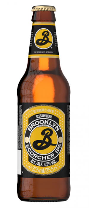 Scorcher IPA by Brooklyn Brewery in New York, United States