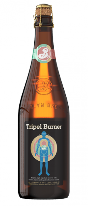 Tripel Burner by Brooklyn Brewery in New York, United States