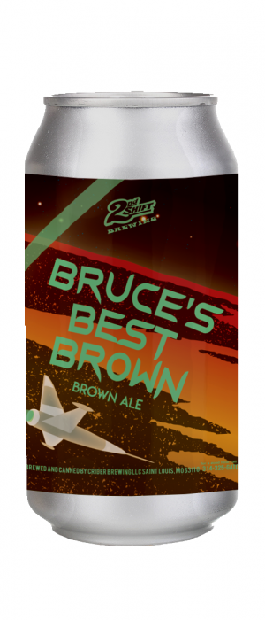 Bruce's Best Brown by 2nd Shift Brewing in Missouri, United States