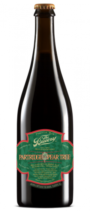 Partridge In A Pear Tree by The Bruery in California, United States