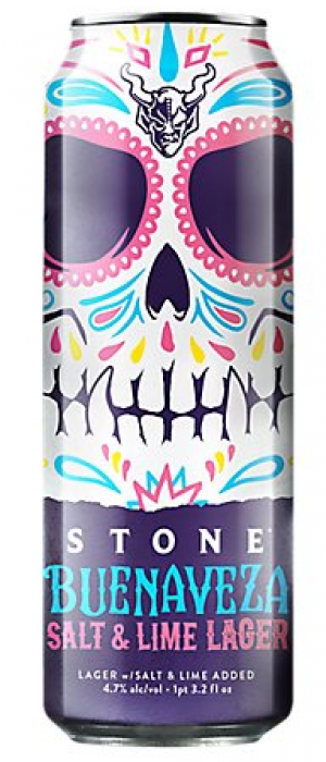 Buenaveza Salt & Lime Lager by Stone Brewing in California, United States