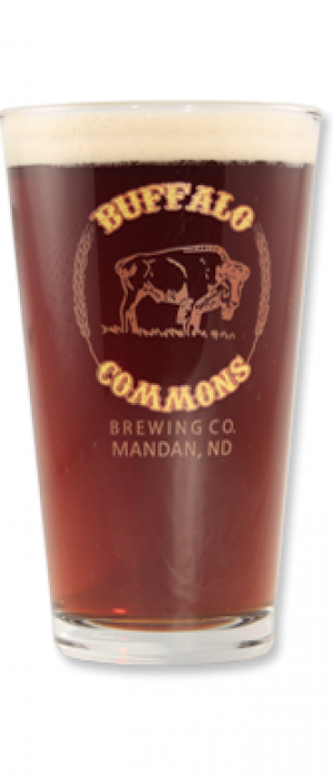 Buffalo Commons Brown Ale by Buffalo Commons Brewing Company in North Dakota, United States