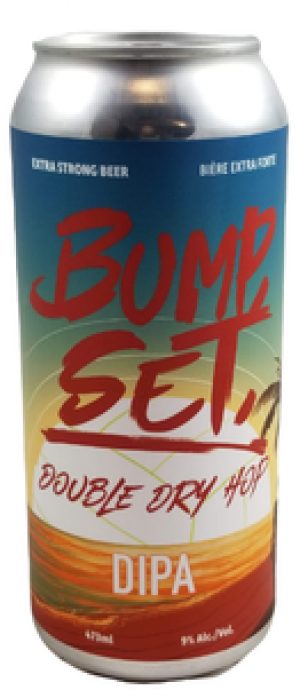 Bump, Set Double Dry Hop DIPA by O.T. Brewing Company in Alberta, Canada