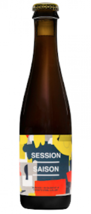 Session Saison by Burdock Brewing Company in Ontario, Canada